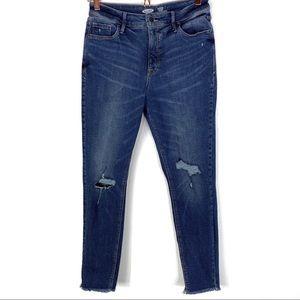Old Navy Rockstar High Rise Super Skinny Jeans 6